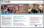 CREDO website redesign by Ghostdog
